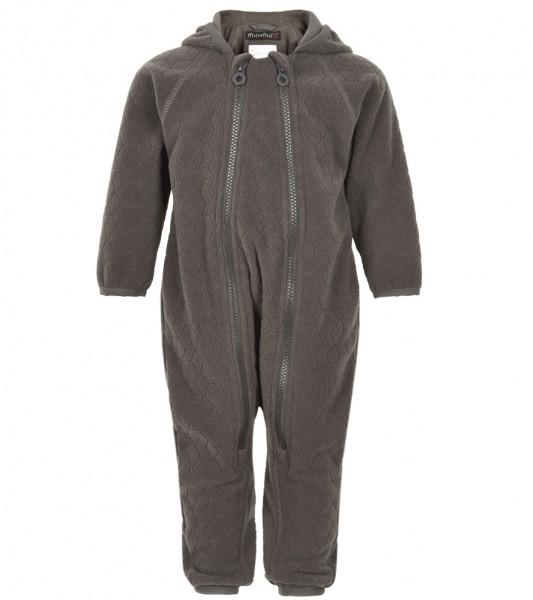 Minymo Fleece-Overall pavement grau