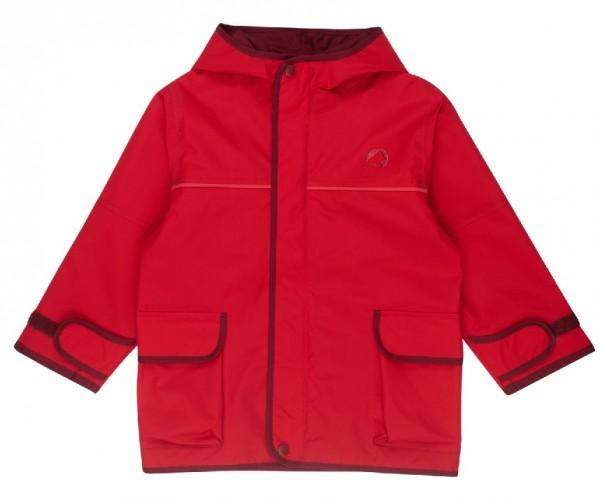 Finkid Jacke Tuulis red/cabernet Zip In Outdoorjacke atmungsaktiv
