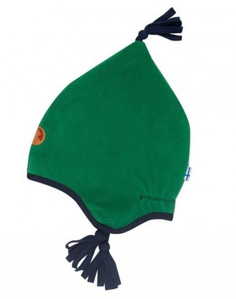 Finkid Pipo leaf/navy Winter Fleecemütze mit Baumwollfutter