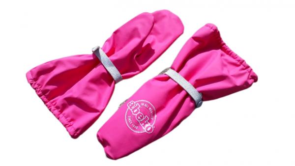 Abeko Mädchen Matschhandschuhe pink mit Fleecefutter