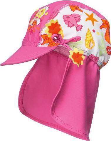 UV-Schutz Strandhut Meerjungfrau pink Sonnenmütze