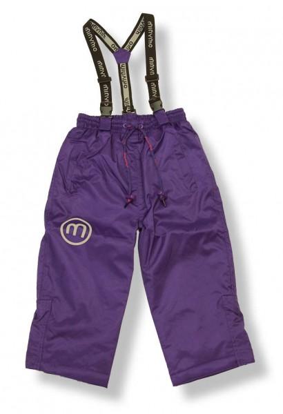 Minymo Hit06 gentian violett Schneehose Skihose Matschhose atmungsaktiv