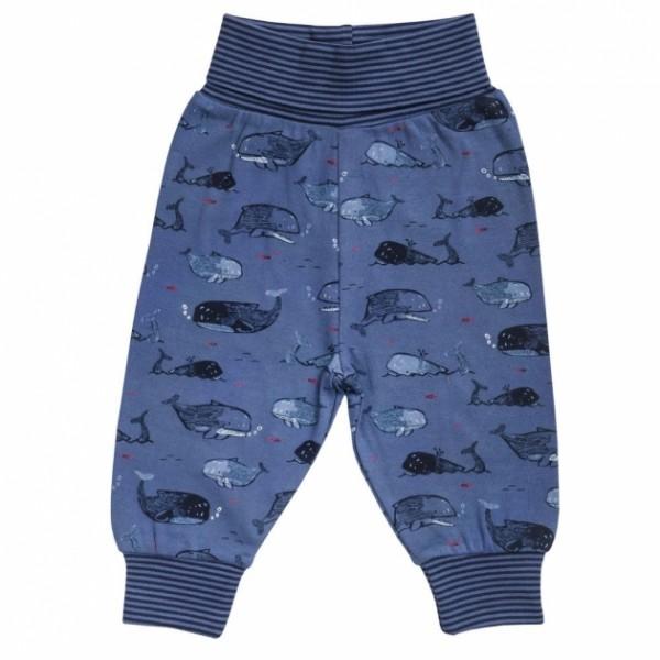 Leichte Baby Hose Pants WALE blau Bio-Baumwolle