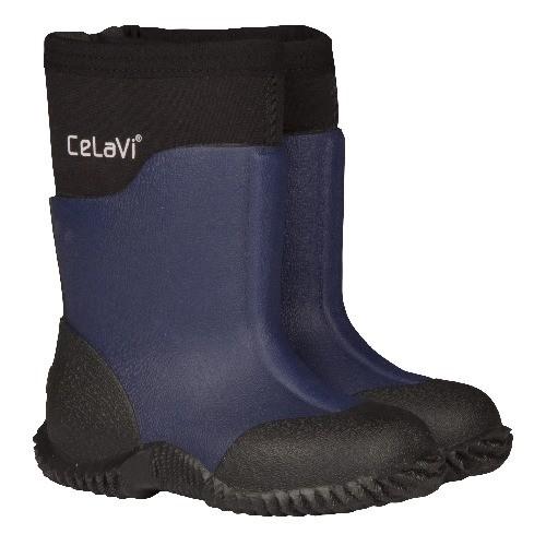 CeLaVi blue depths solid Neopren Gummistiefel Boots