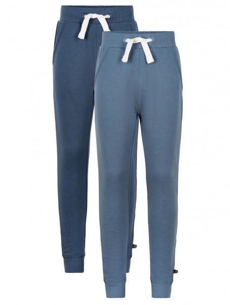 Minymo Sweathose blue/navy im 2er Pack Jogginghose