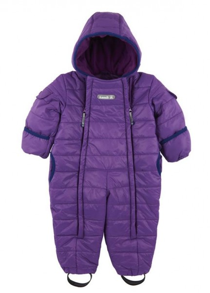 Kamik Topaz grape navy Baby Thermoanzug Wärmeoverall