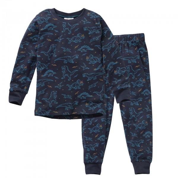 People Wear Organic DINO Schlafanzug Jungen Pyjama Bio-Baumwolle