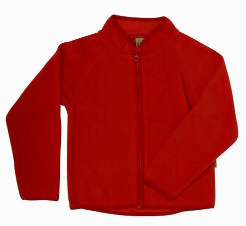 Celavi Kinder Fleecejacke in rot