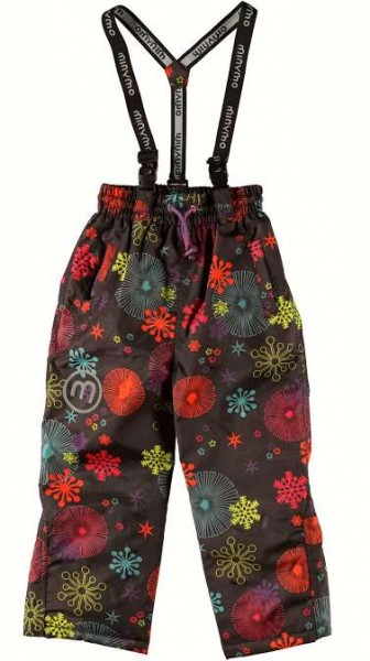 Minymo Now10 Coffee Bean Schneeflocken Thermo Skihose Schneehose atmungsaktiv