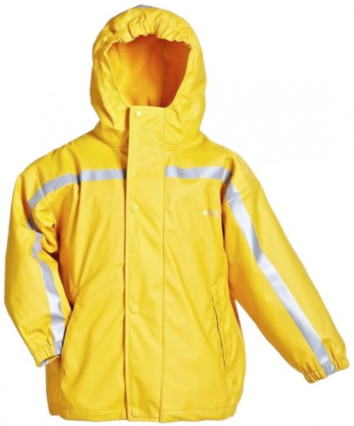 BMS Thermo Regenjacke gelb mit Zip-In Fleecejacke 2in1