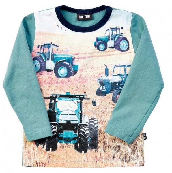 Metoo Traktor Langarmshirt ocean teal