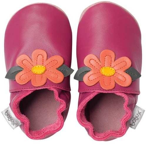 Bobux Mädchen Krabbelschuhe Gypsy Flower pink
