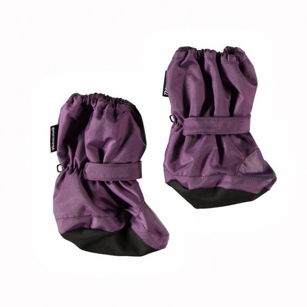 Minymo Nylon Thermo Booties Now 62 Grape Jam violett
