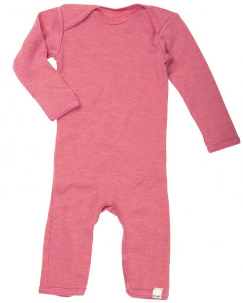 Celavi Overall Wolle pink melange
