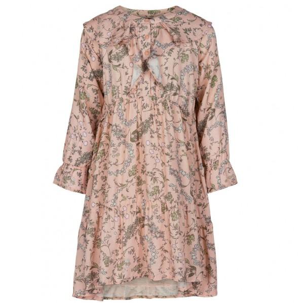 Creamie Mädchenkleid smoky rose Blumenmuster
