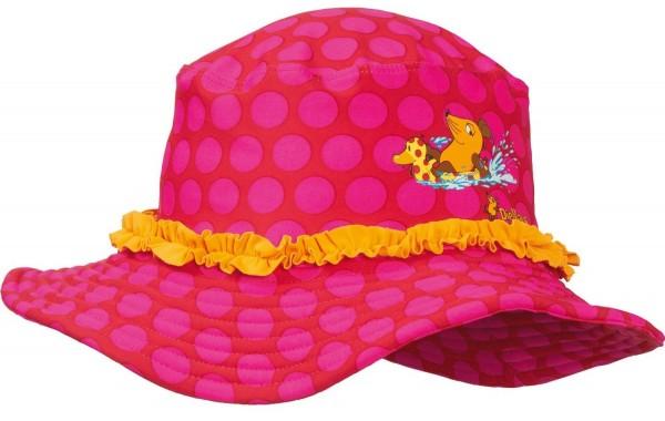 UV Schutz Strandhut Maus pink Flapper