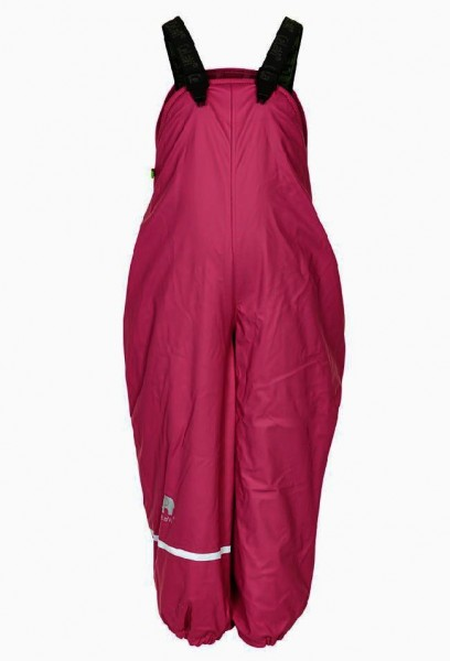 Celavi Thermo Matschhose beet red Winter Regenhose mit Fleecefutter