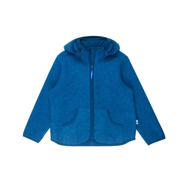Finkid TONTTU SPORT WOOL seaport Wollfleece Jacke