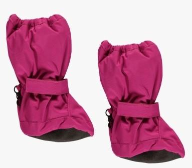 Minymo Nylon Thermo Booties Thunder60 fuchsia pink - gefütterte Stiefelchen Footies
