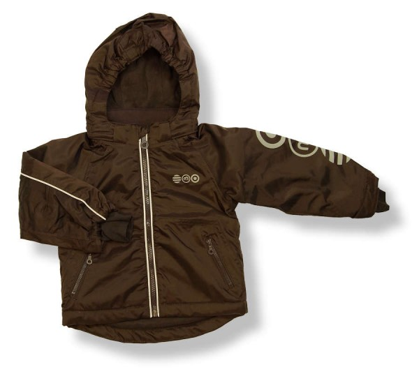 MINYMO Outdoorjacke Now03 dunkelbraun Coffee Bean uni Winterjacke atmungsaktiv