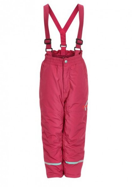 Celavi Skihose cherry pink Schneehose wasserdicht