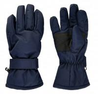 Minymo Kinder Fingerhandschuhe dunkelblau Thermo Handschuhe