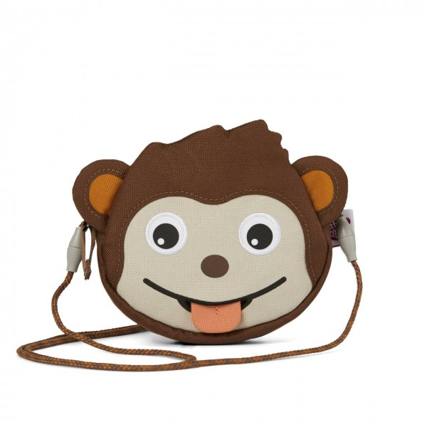 Affenzahn Kinderportemonnaie Affe braun
