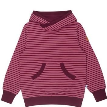Finkid JUTTU rose/cabernet Hoodie Kapuzenpulli Sweatshirt mit Kapuze