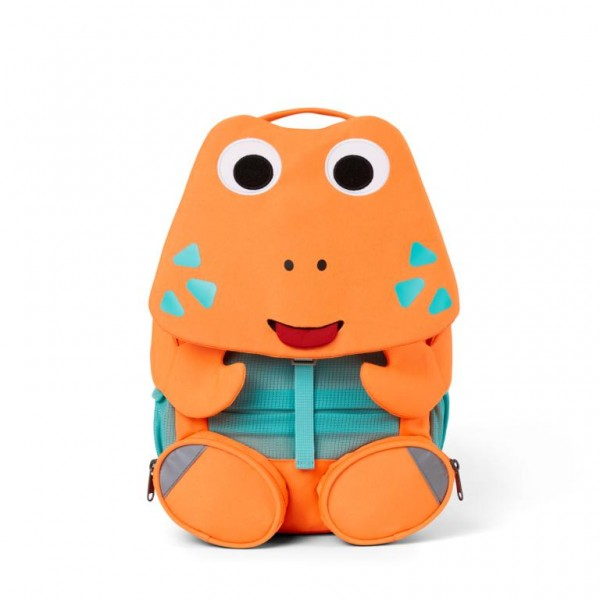 Affenzahn Kinder Rucksack Krabbe orange großer Freund