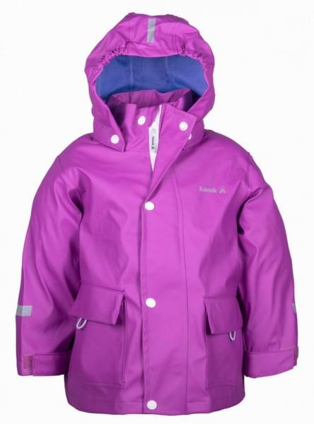 Kamik Kinder Regenjacke Splash violett mit Textilfutter
