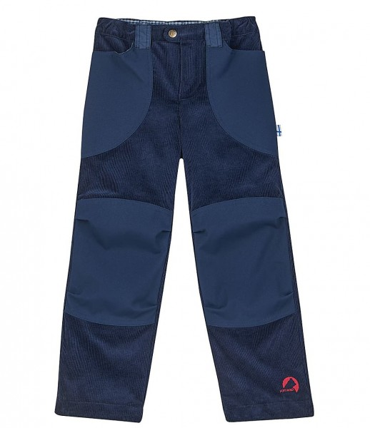 Finkid KILPI navy Kinder Outdoorhose im Workerstil