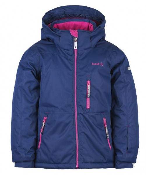 Kamik Aria Winter Outdoorjacke navy-marine/pink