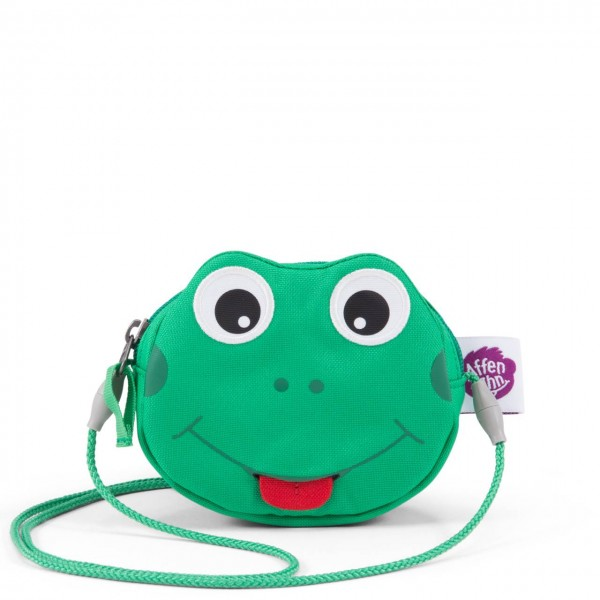 Affenzahn Geldbeutel Frosch grün Kinderportemonnaie