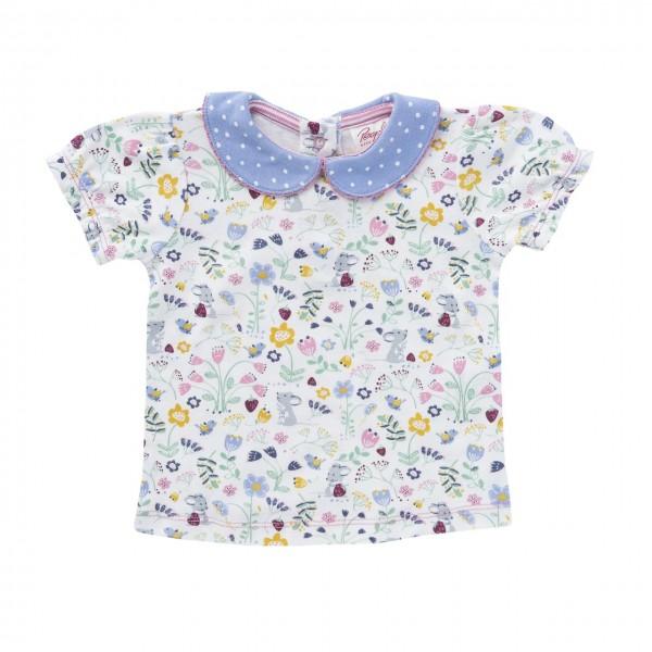 Mädchen T-Shirt Wiesenblumen Bio-Baumwolle