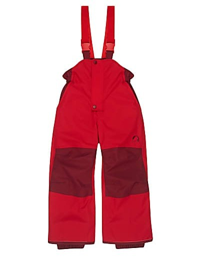 Finkid Toope Schneehose red/cabernet
