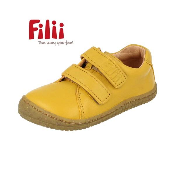 Filii Soft-Walk lemon BIO Glattleder Barfußschuhe