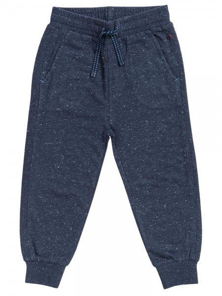 People wear Organic Sweat Pants blau melange Jogginghose