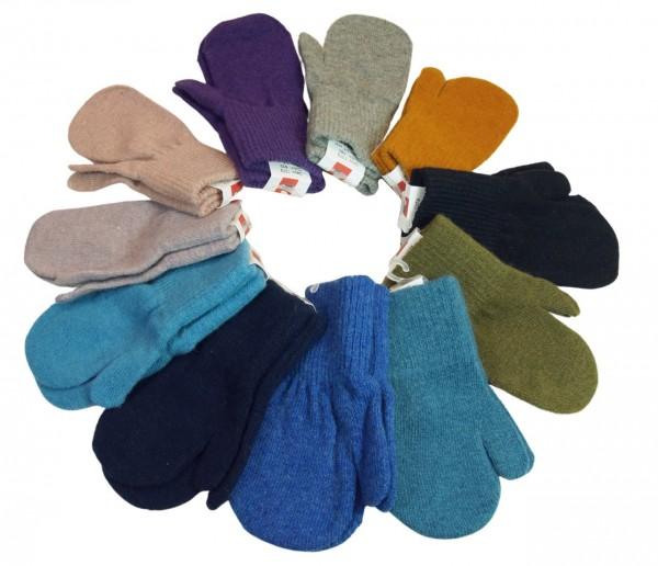 Celavi Kinder Handschuhe Wolle Magic Stretch Fäustlinge