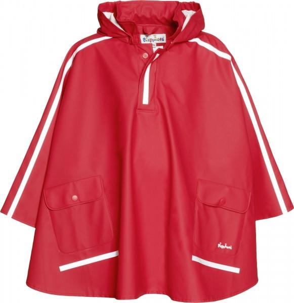 Kinder Regencape rot extra lang Regenponcho