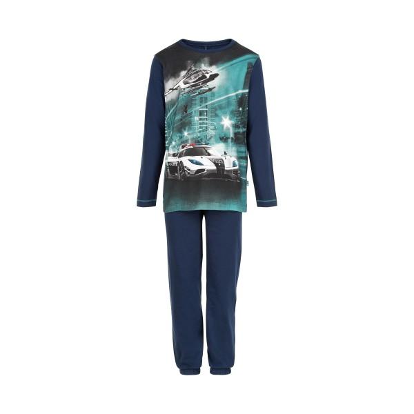 MeToo Jungen Schlafanzug Polizeiauto Pyjama