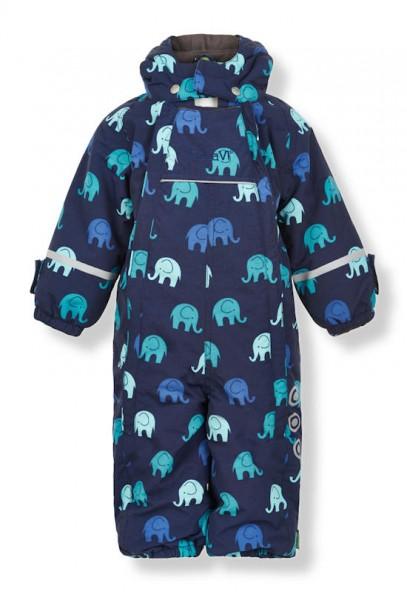 Celavi Schneeanzug Skianzug Elephants true blue / navy
