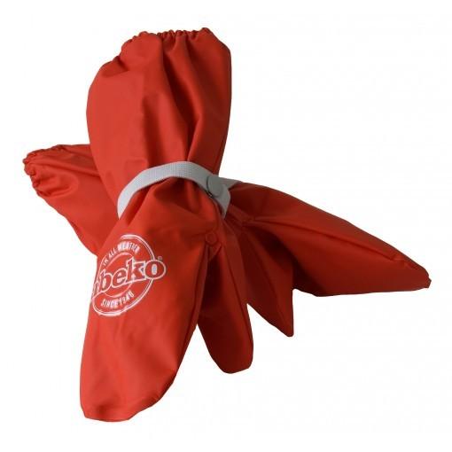 Abeko Winter Buddelhandschuhe rot mit Fleecefutter