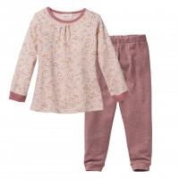 People wear organic Mädchen Schlafanzug Pyjama Bio-Baumwolle