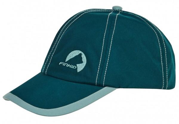 Finkid Cap TAIKULI deep teal/trellis Kinder Basecap mit UV Schutz