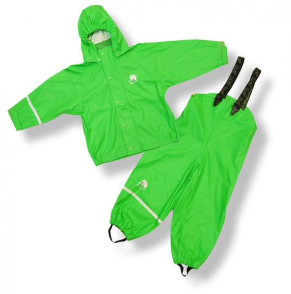 CeLaVi Regenanzug grün Regenhose + Regenjacke