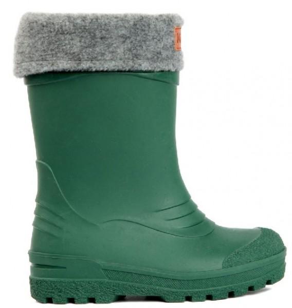 Kavat GIMO grün Winter Thermo Gummistiefel mit Wollfutter