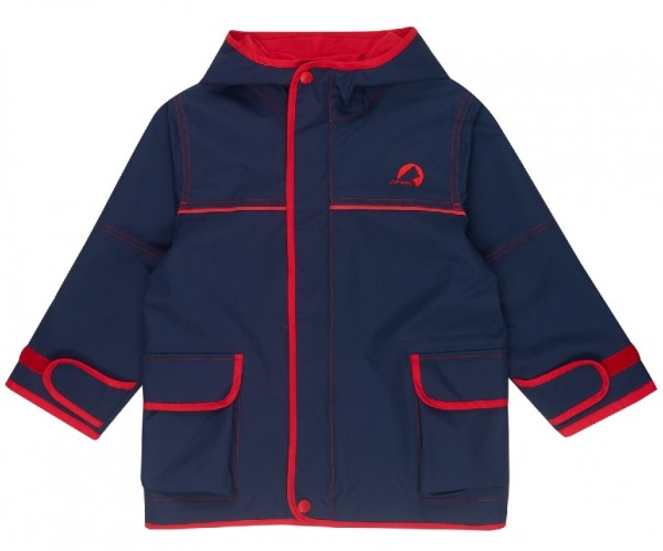 Finkid Jacke Tuulis navy/red Zip In Outdoorjacke atmungsaktiv