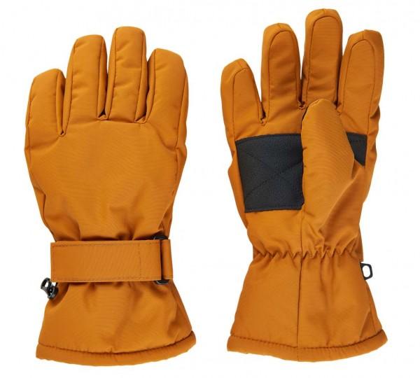 Minymo Fingerhandschuhe kürbis Thermo Handschuhe