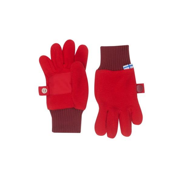 Finkid SORMIKAS red cabernet Fleece Fingerhandschuhe
