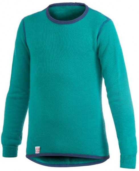 Woolpower Langarm Funktionsshirt turtle green Unterhemd Wolle